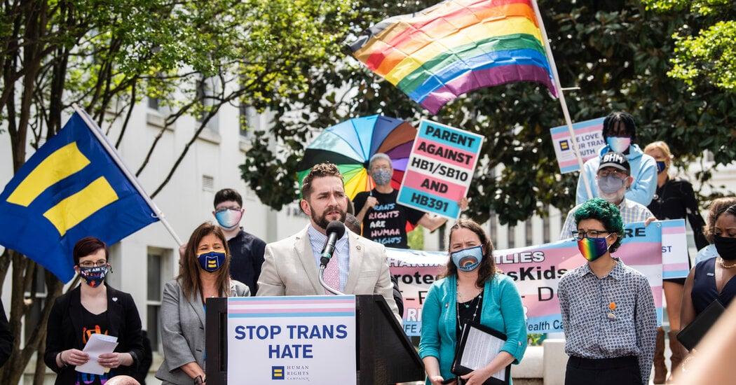 Alabama and North Dakota Advance Sports Rules Against Transgender Females - The New York Times