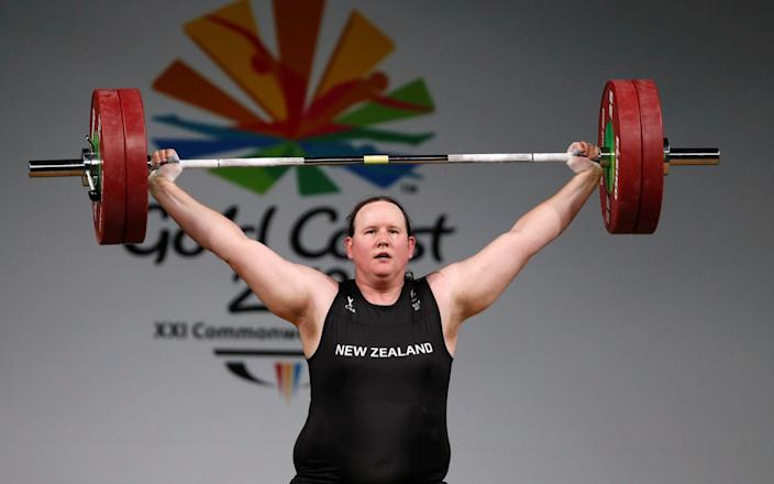 Top Olympic advisor reveals concerns over trans women competing in female weightlifting - Sports Grind Entertainment