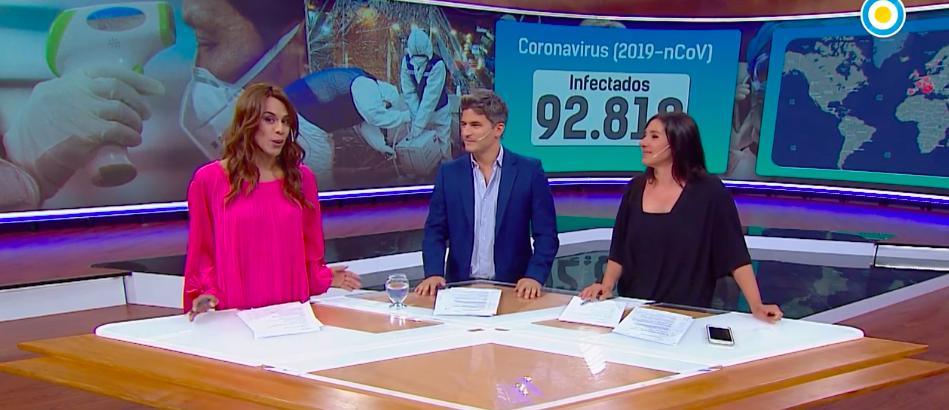 Argentina makes history with first-ever transgender news anchor on prime time's Televisión Pública