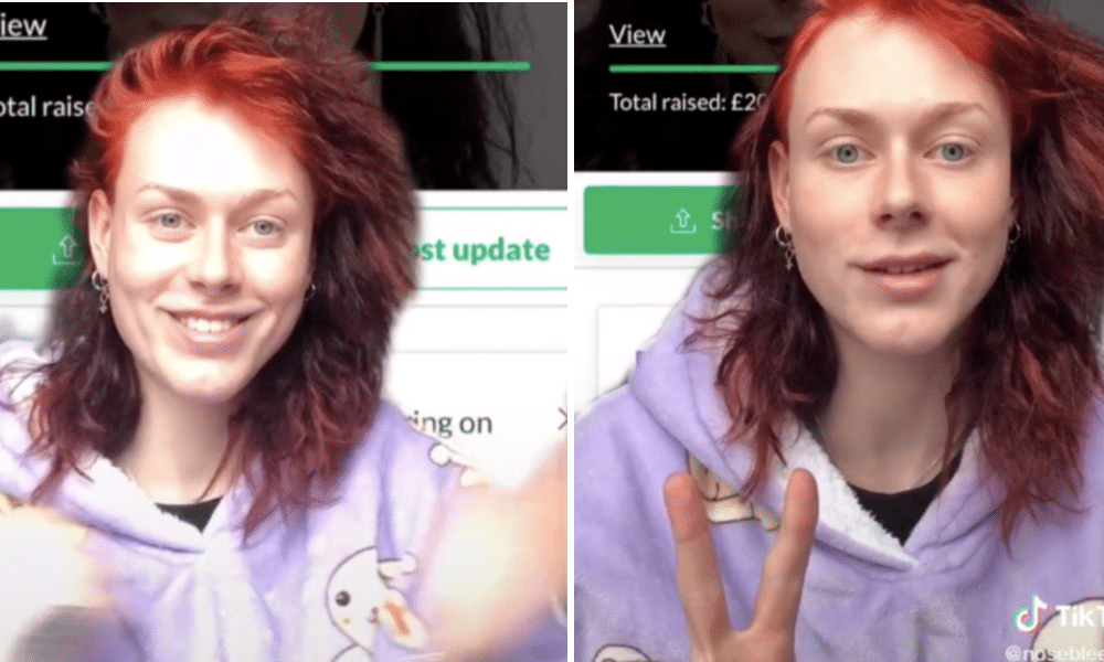 Trans TikTok star 'blown away' after fans rally together to fund her entire transition